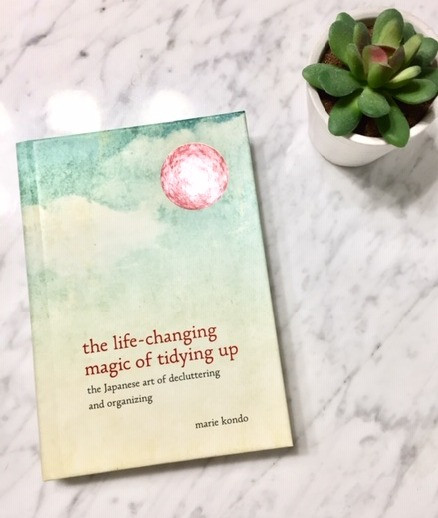 Marie Kondo Life Changing Magic of Tidying Up book