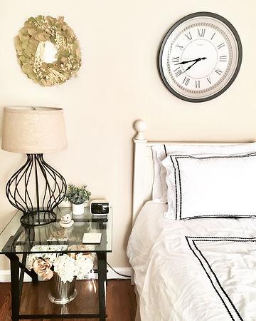 Farmhouse bedroom interior design