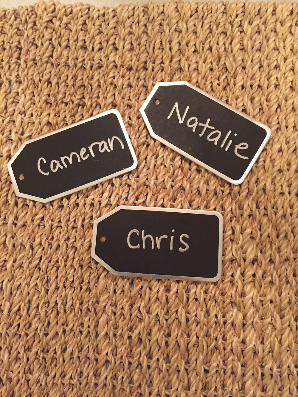 Michaels farmhouse chalkboard tags