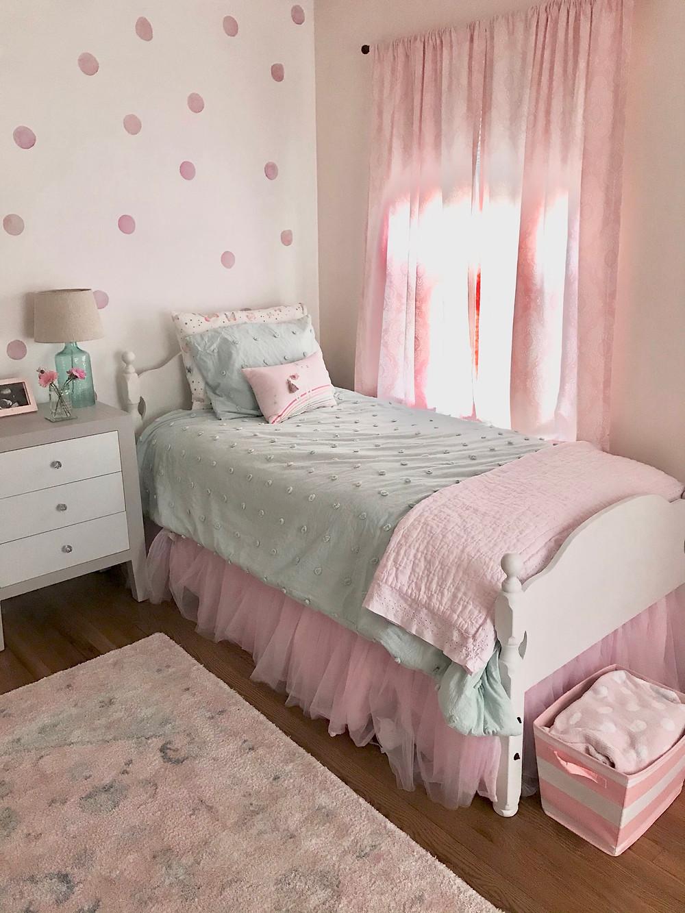 Girls Bedroom Interior Design Toddler Pink