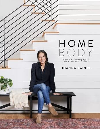 Homebody book by Joanna Gaines