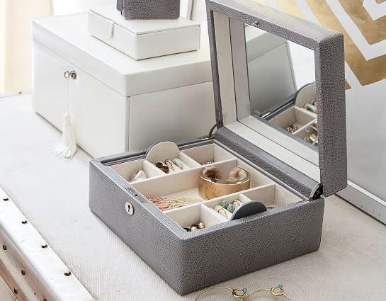 Mckenna personalized jewelry box Pottery Barn