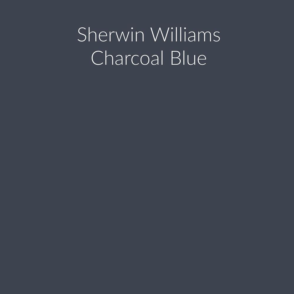 Sherwin Williams Charcoal Blue