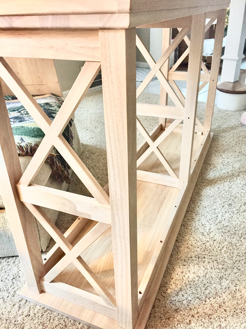 Farmhouse cosgrove console table Wayfair