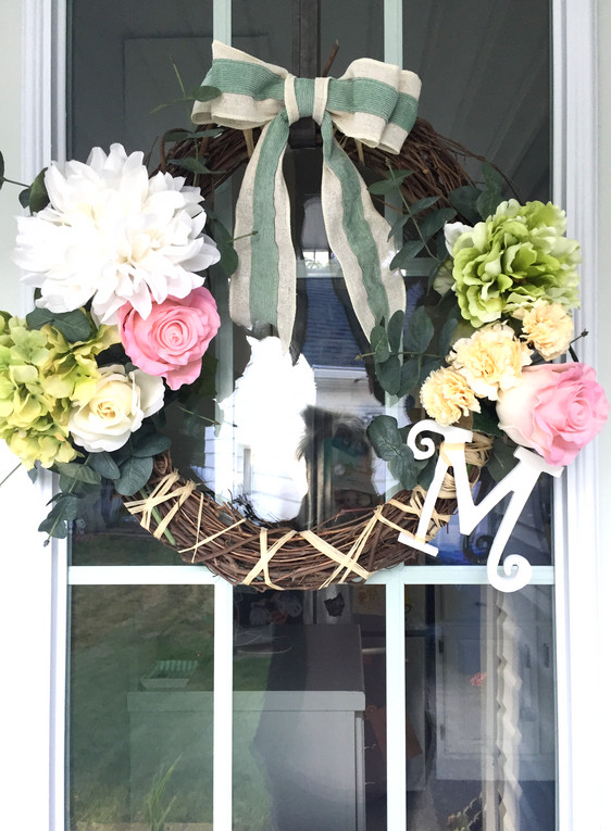 Welcome home: How to DIY & design a custom wreath