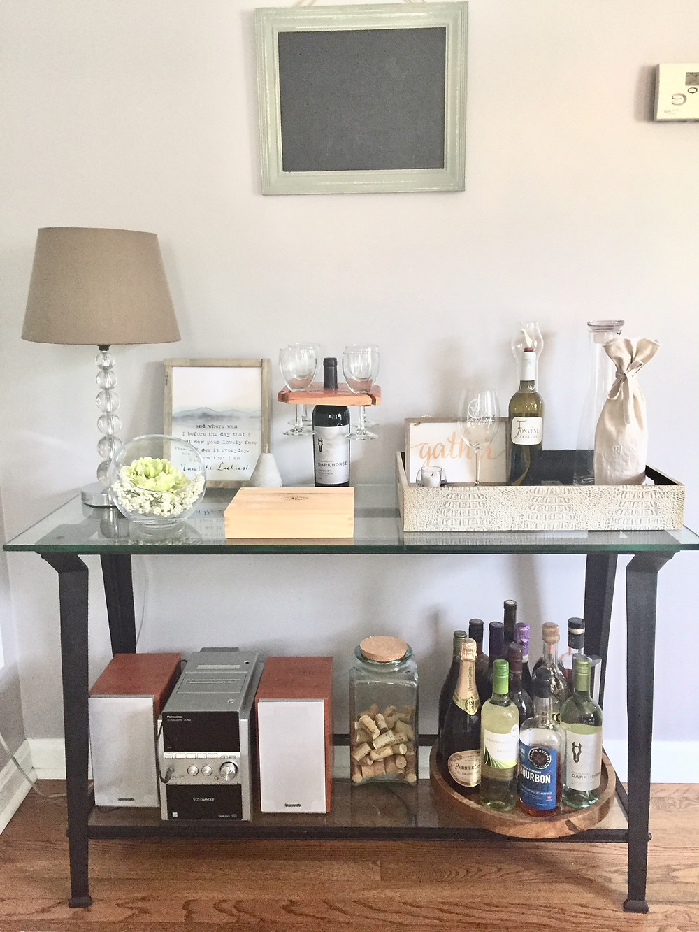 Dining room buffet console side table decorating ideas