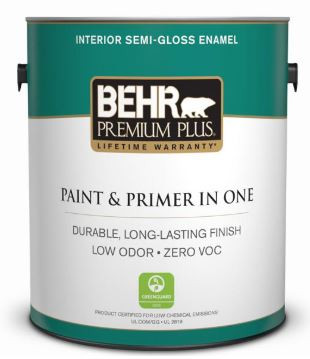 Behr ultra white interior paint