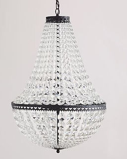 Mia faceted crystal chandelier.JPG