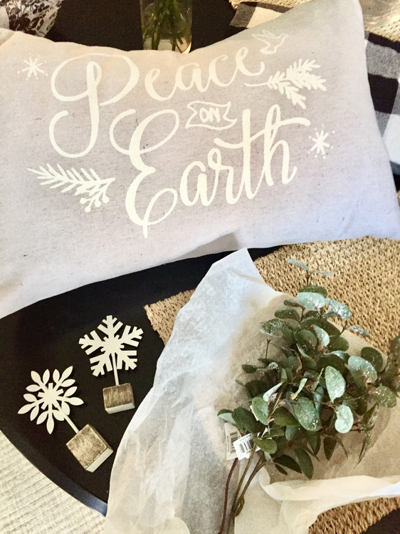 A farmhouse Christmas: My holiday home decor