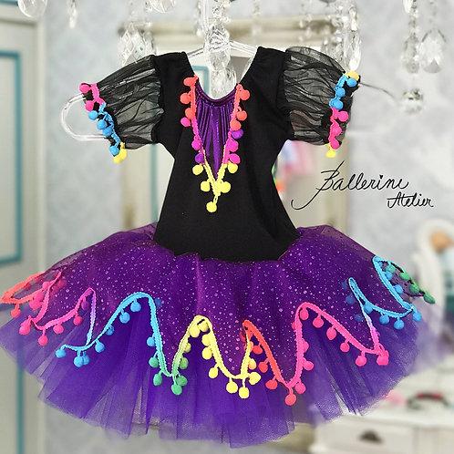 Vestido Bruxa Roxa