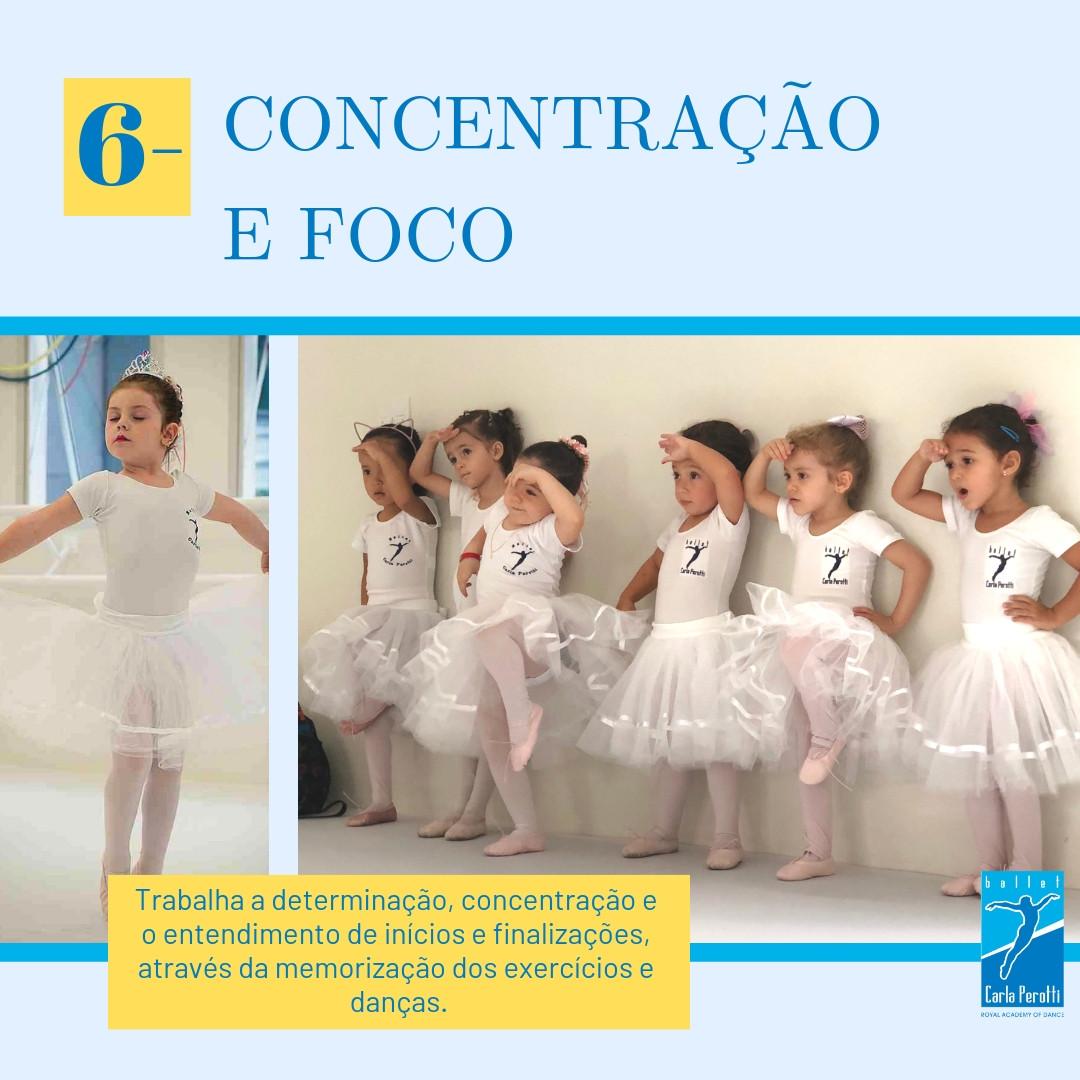 benefícios do ballet infantil