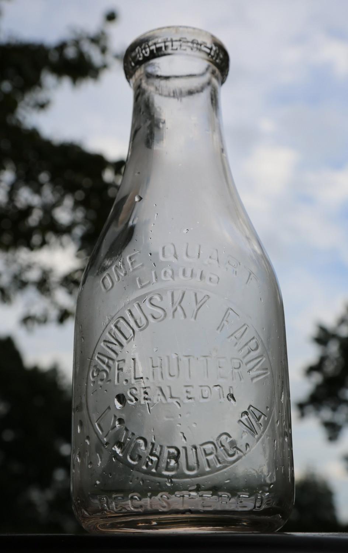 Sandusky Milk Bottle