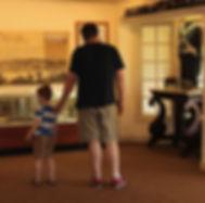 Inside the Sandusky Visitors Center