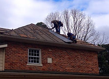 Restoration of the Visitors Center Roof