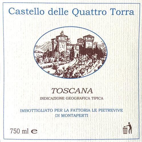 """Bianco Toscano """"Castello delle Quattro Torra"""""""
