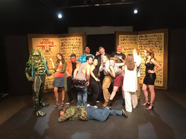 """""""Enter Cthulhu"""" Showing at the Pocket Sandwich Theater"""