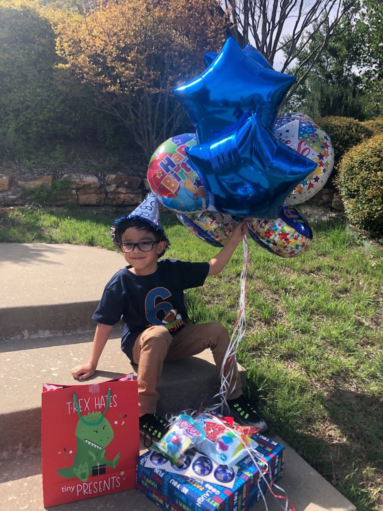 """From article, """"Jacob Jaimes thought his birthday was ruined when his party was canceled. Mom's plan made it all better. Credit: Joanna Jaimes"""""""