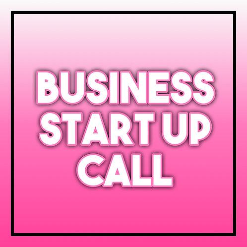 Business Start Up Call