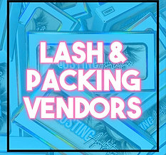 Lash & Packaging vendors list