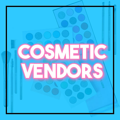 Cosmetic vendors List