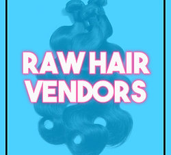 Raw Hair Vendor