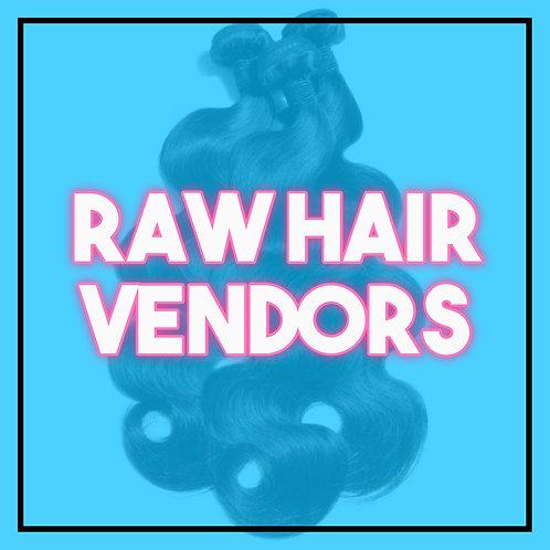 Raw Hair Vendor