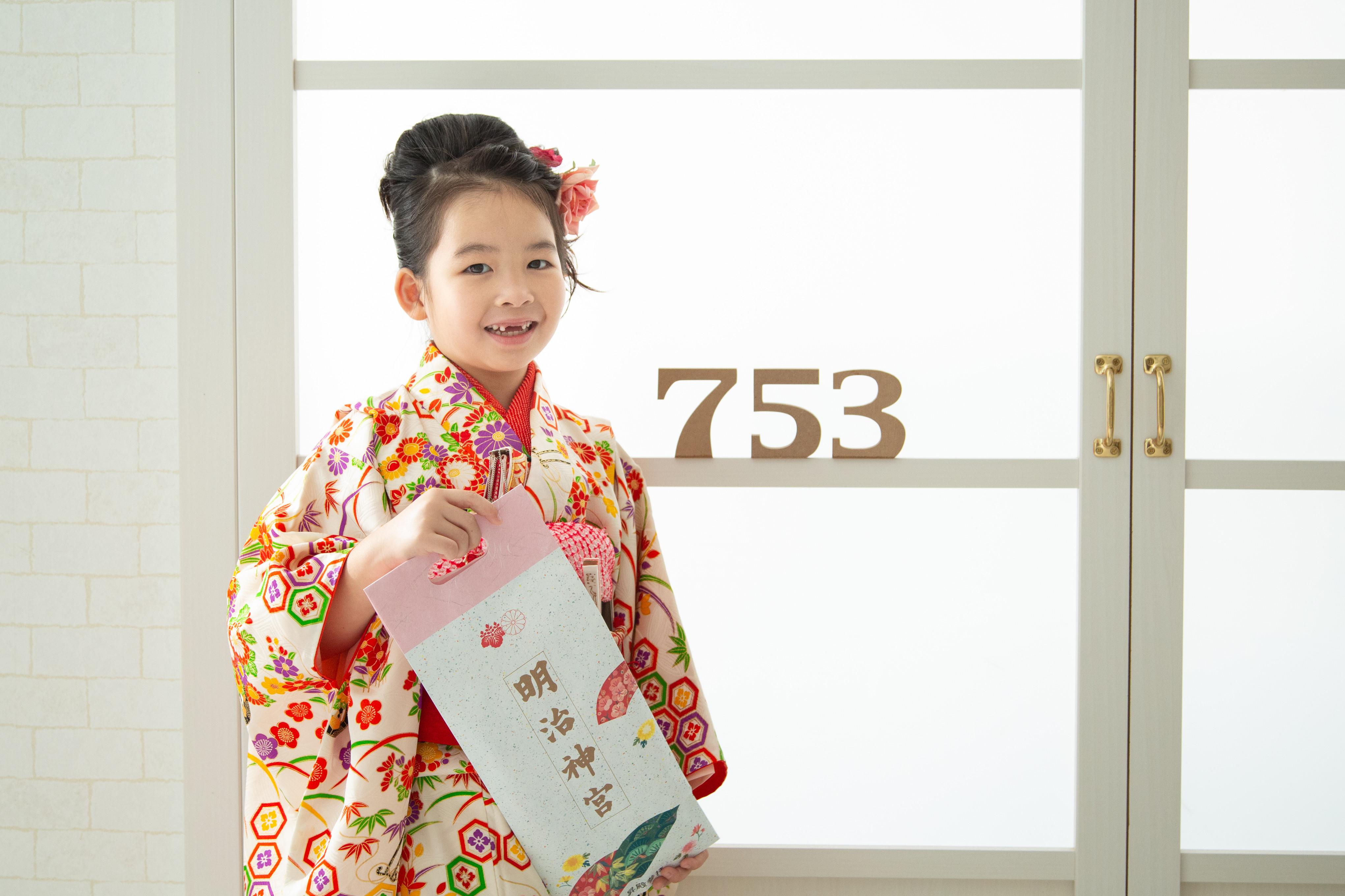 【2019・都内限定】七五三ハウススタジオ撮影