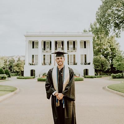 Alex Coury Univ. of Alabama Graduation