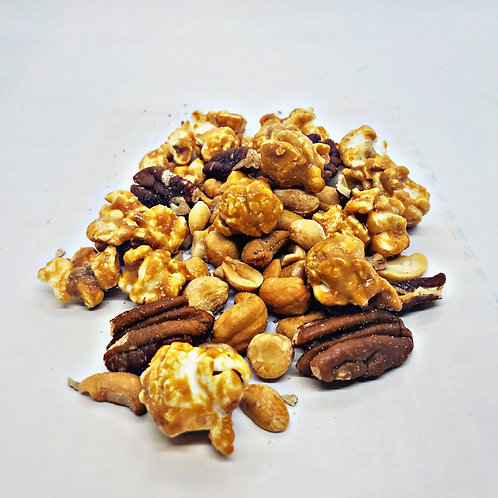 Buttered Caramel With Mixed Nuts