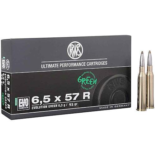 RWS 6,5x57R Evo Green 6,0 gr.