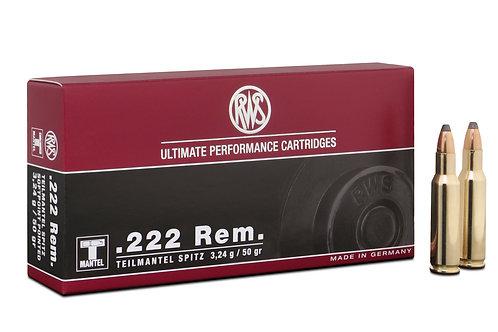 RWS .222 Rem. TMS 3,24gr.