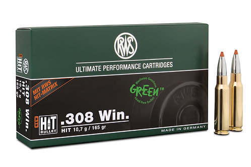 RWS .308 Win. HIT 10,7 gr.