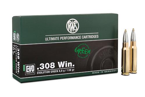 RWS .308 Win. Evo Green 8,8 gr.
