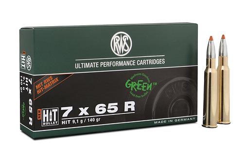 RWS 7x65R HIT 9,1 gr.