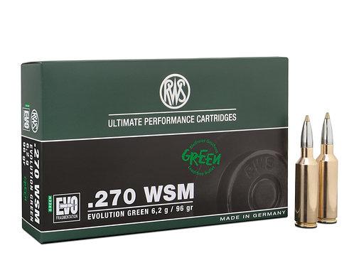 RWS .270 WSM Evo Green 6,2 gr.