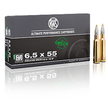 RWS 6,5x55 SE Evo Green 6,0 gr