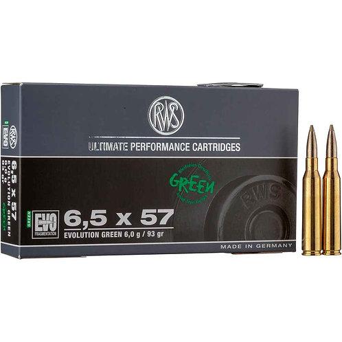 RWS 6,5x57 Evo Green 6,0 gr.