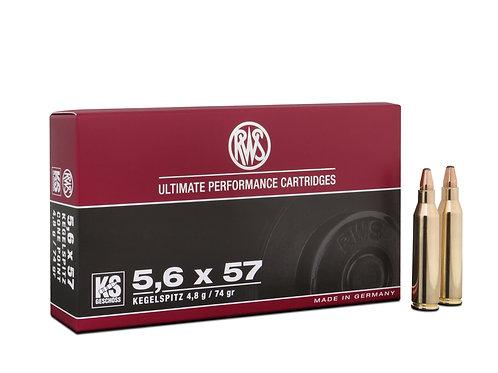 RWS 5,6 x 57 KS 4,8gr.