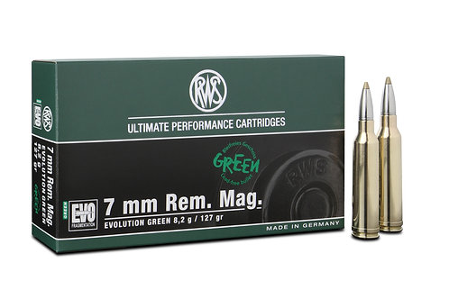 RWS 7mm Rem. Mag. Evo Green 8,2 gr.