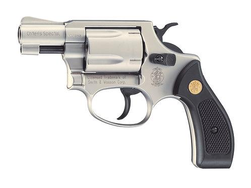 Smith&Wesson Chiefs Special Gas-Signal Revolver vernickelt