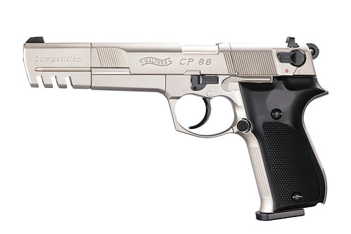 Walther CP88 Competition vernickelt Co2