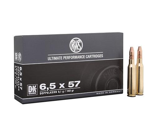 RWS 6,5x57 DK 9,1 gr.