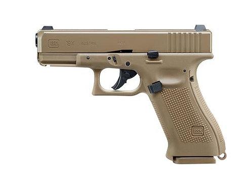 Glock 19X CO2 4,5mm Steel BB mit Blowback