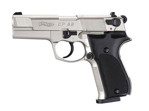 Walther CP88 vernickelt Co2