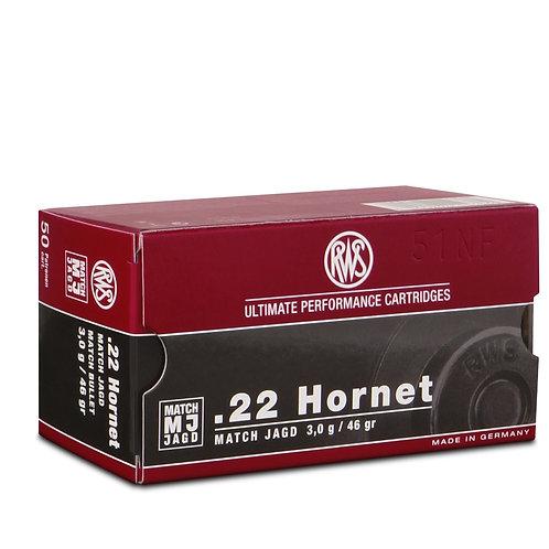 RWS Match MJ .22 Hornet 3,0 g