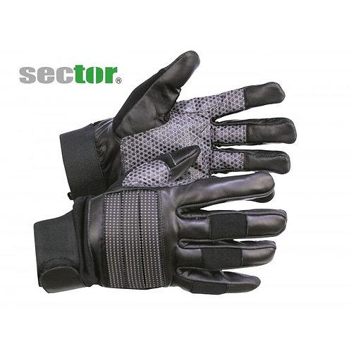 sector Lederhandschuh mit Antirutschbesatz