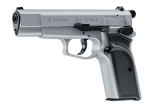 Browning GPDA 9 Gas-Signal Pistole Crushed Silver
