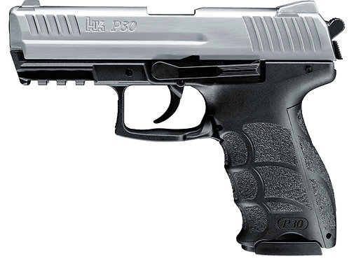 Heckler & Koch P30 Gas-Signal Pistole Steel Finish