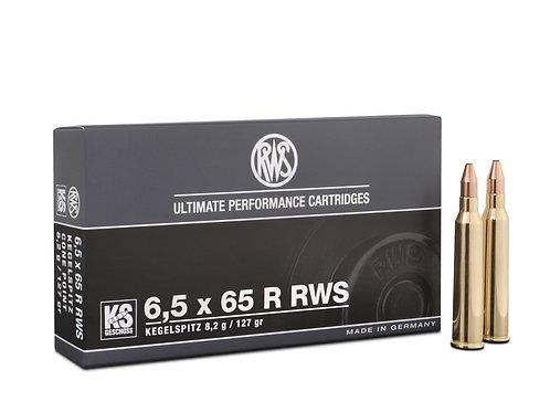 RWS 6,5x65R RWS KS 8,2 gr.