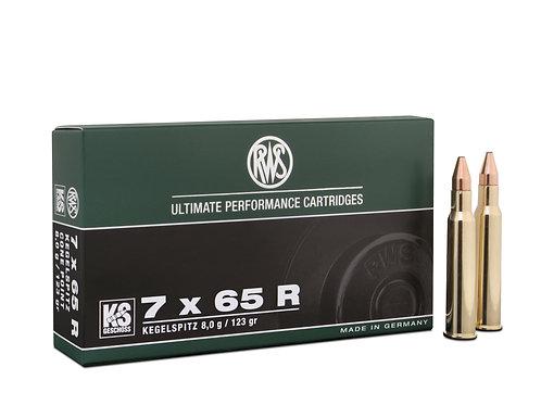 RWS 7x65R KS 8,0 gr.